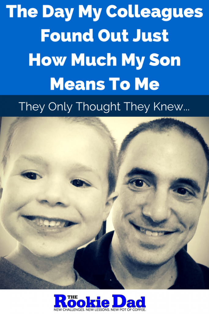How Much My Son Means To Me
