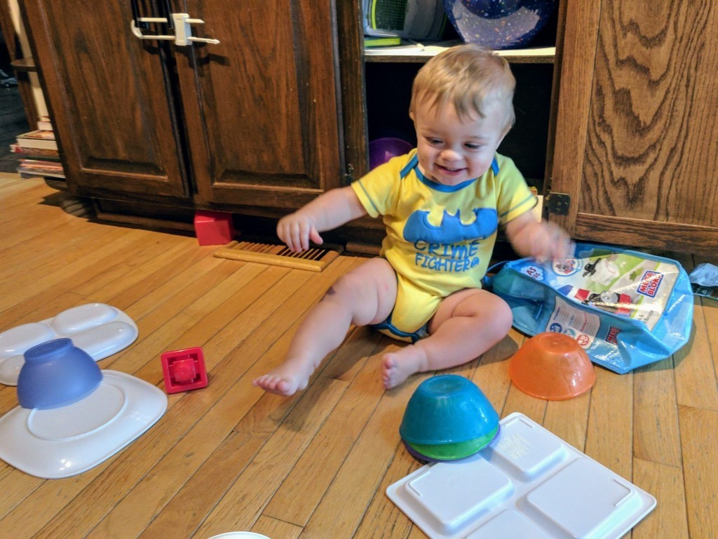 From Infant to Toddler: Babyproofing