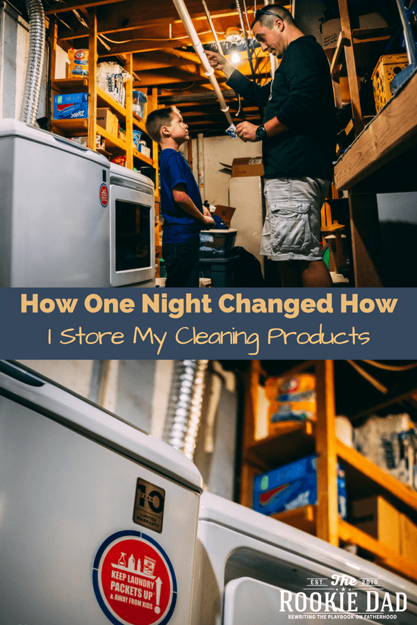 How One Night Changed How I Store My Cleaning Products