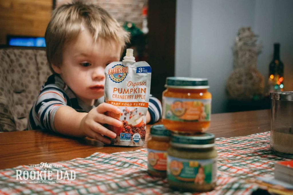 Earth's Best Baby Food Jars and Pouches