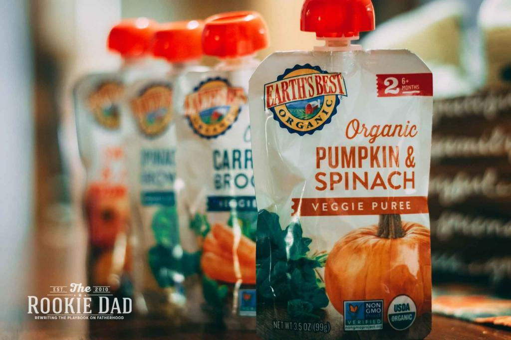 Earths' Best Baby Food Pouches