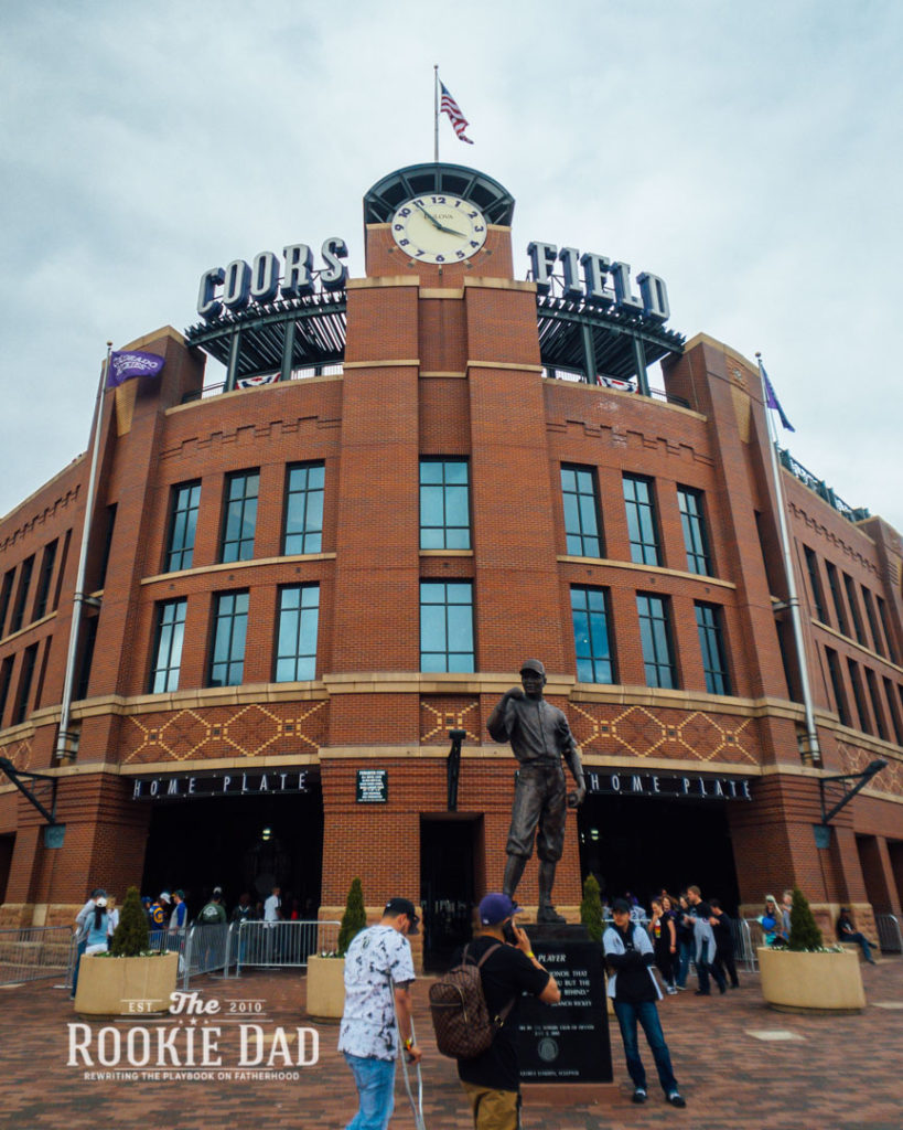 Coors Field Opening Day 2019