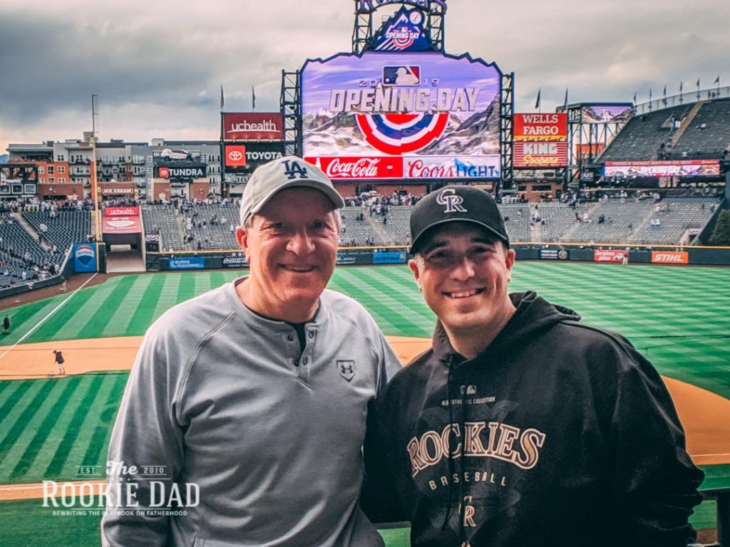 Father and Son Opening Day