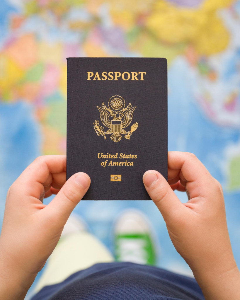Image of a Kid's Passport
